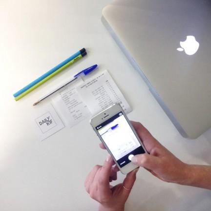 Notes de frais appli mobile
