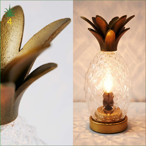 Lampe Ananas Plum & Bow chez Urban Outfitters