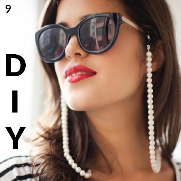 Cordon de lunettes perles - Tutoriel - à faire soi-même - Loisirs créatifs