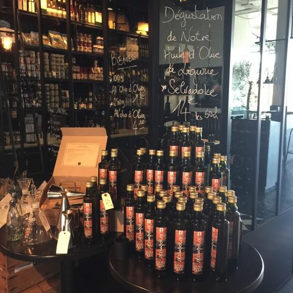 La dégustation des huiles d'olive Selvadolce
