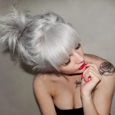 grey hair cheveux gris granny