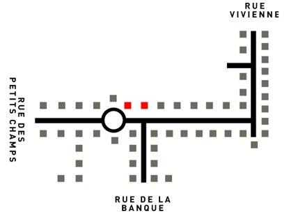 Plan de la Galerie Vivienne