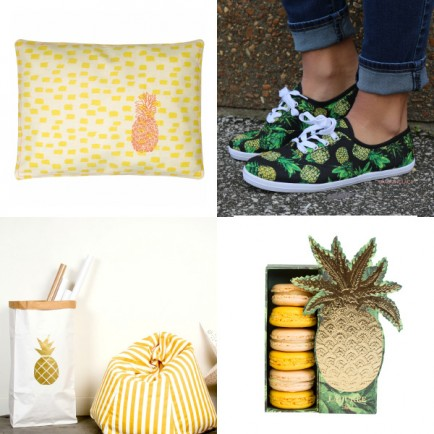 une shopping ananas