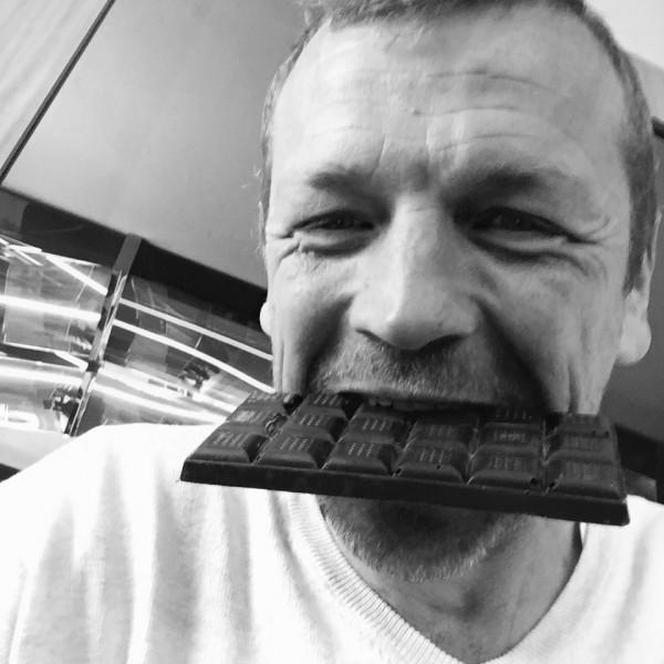 Frédéric Marr en selfiechoco