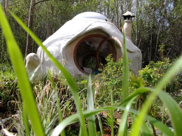 Kerterre, maison dans les bois