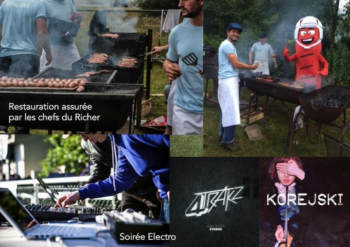 Apéro barbecue BBQ Tournoi 7 de Coeur