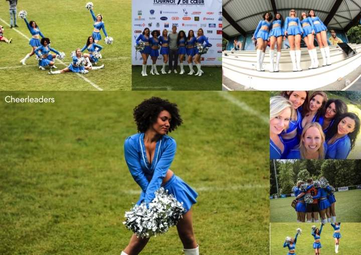 London Cheerleaders Tournoi 7 de Coeur
