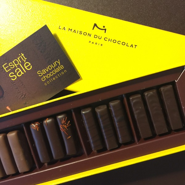 Coffret Esprit Salé de la Maison du Chocolat