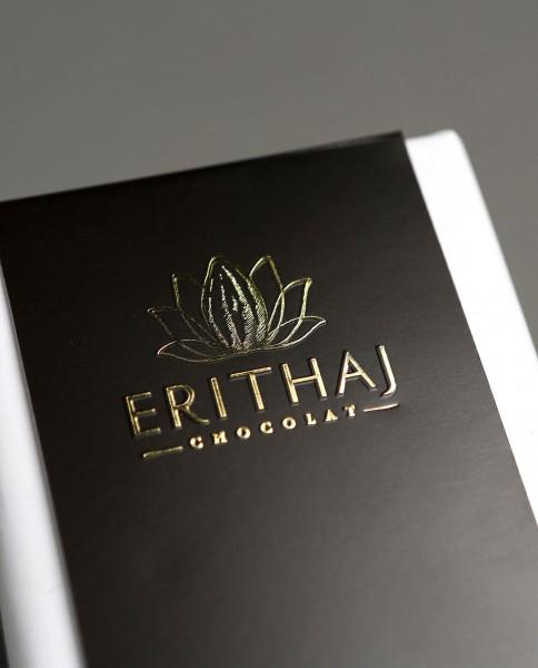 Tablette Erithaj pure origine Vietnam, différents pourcentages de cacao