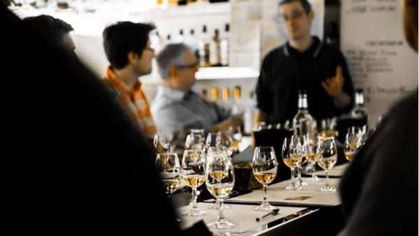 Dégustation à l'Académie du Whisky